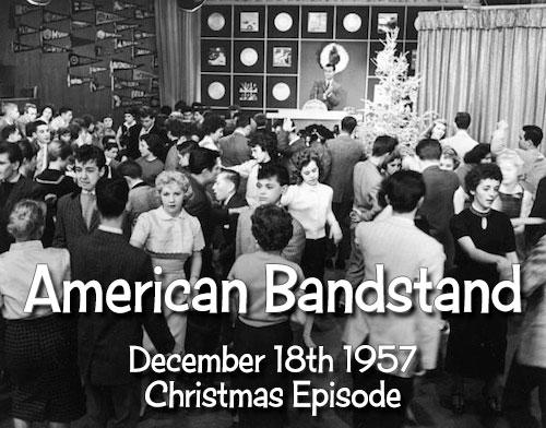 AMERICAN BANDSTAND 1957 DVD Christmas Episode Rock & Doo Wop