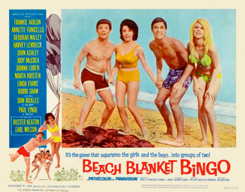 Image result for movie beach blanket bingo 1965