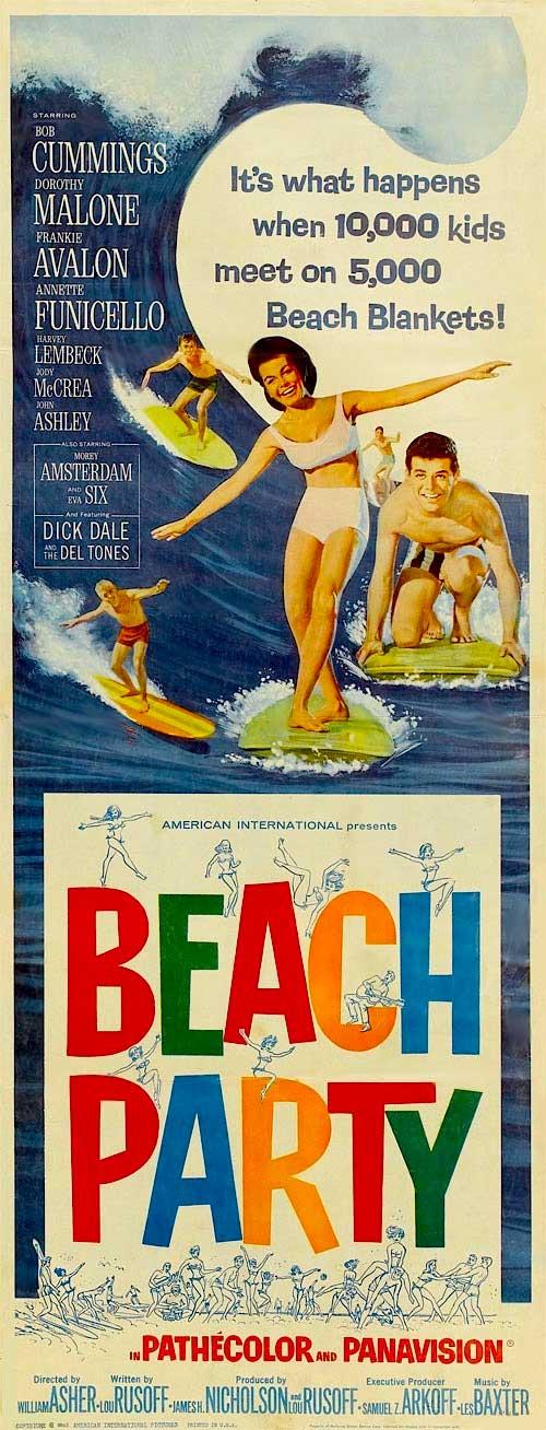 beach party dvd 1963 movi e dick dale and the deltones