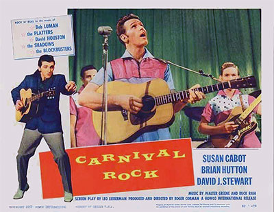 carnival rock dvd 1957 rockabilly movie on dvd bob luman