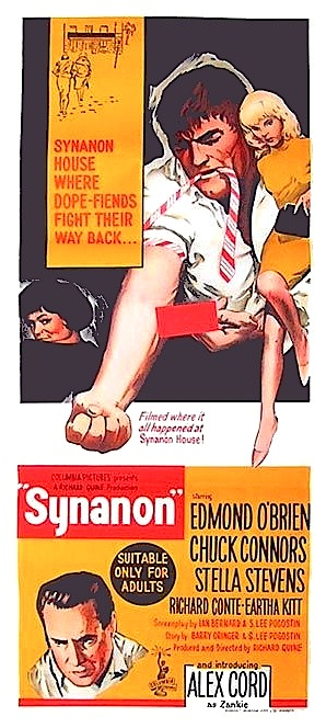 synanon 1965 heroin movie on dvd cool soundtrack