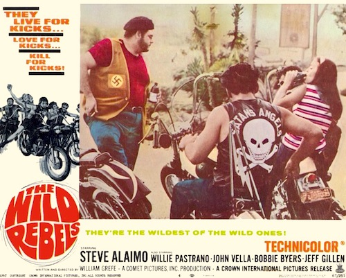 wild rebels 1967 movie on dvd weedsmoking nazi biker gang