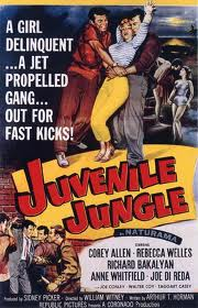 Juvenile Jungle Movie Poster