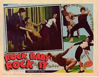 Rock Baby, Rock It Lobby Card